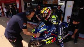 La seconda sessione di prove libere per la Moto3™ al GP di Catalogna.