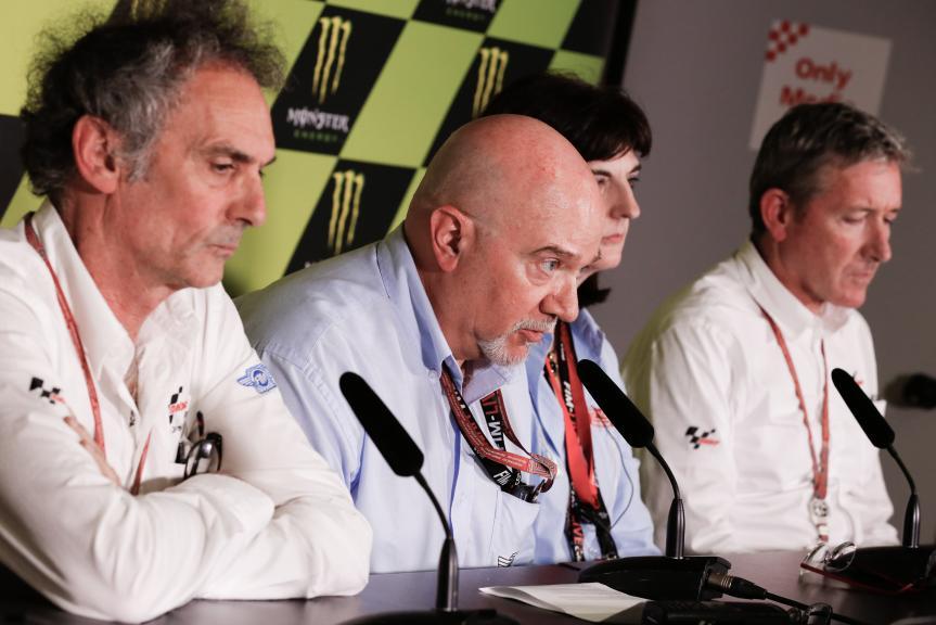 Luis Salom Press Conference