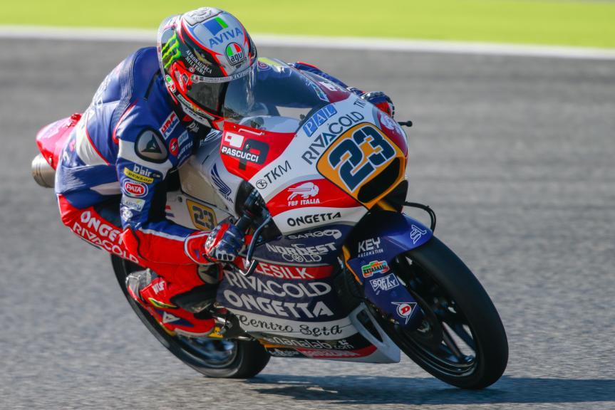 Niccolò Antonelli, Ongetta-Rivacold, Gran Premi Monster Energy de Catalunya