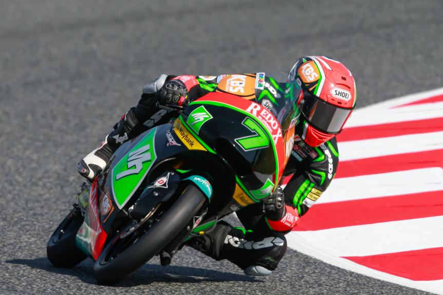 Adam Norrodin, Drive M7 SIC Racing Team, Gran Premi Monster Energy de Catalunya