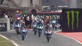 Moto3™: le qualifiche al GP di Catalogna.