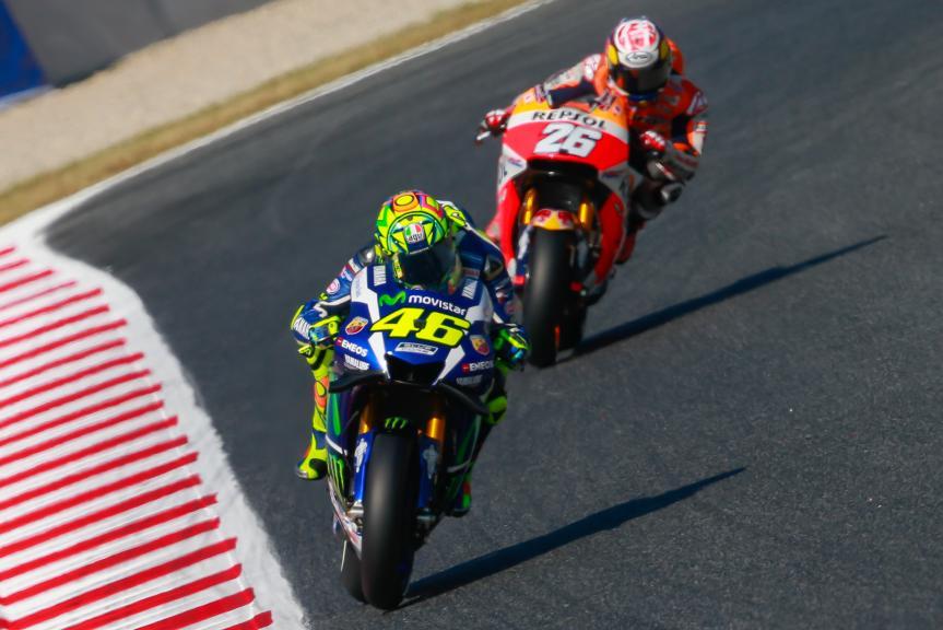 Valentino Rossi, Movistar Yamaha MotoGP, Dani Pedrosa, Repsol Honda Team, Gran Premi Monster Energy de Catalunya