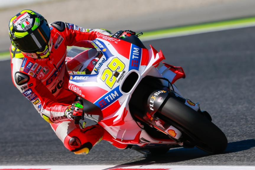 Andrea Iannone, Ducati Team, Gran Premi Monster Energy de Catalunya