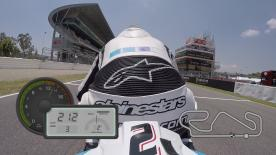 Experience a lap of the Circuit de Catalunya with motogp.com's Dylan Gray.
