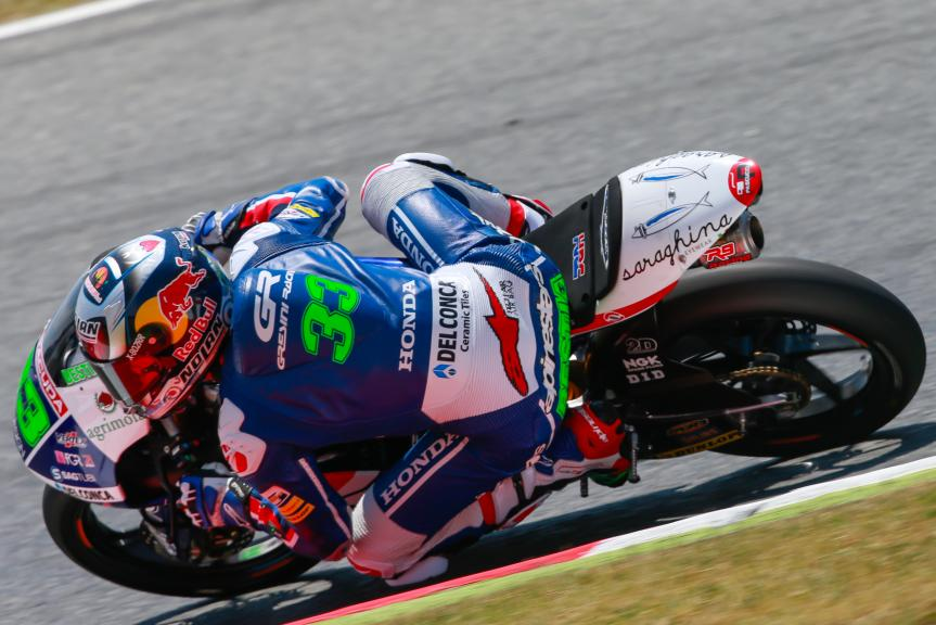 Enea Bastianini, Gresini Racing Moto3, Gran Premi Monster Energy de Catalunya