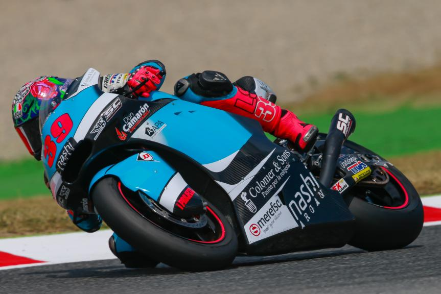 Luis Salom, SAG Team, Gran Premi Monster Energy de Catalunya