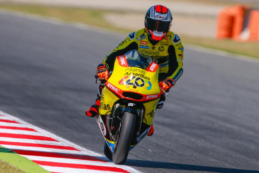 Alex Rins, Paginas Amarillas HP 40, Gran Premi Monster Energy de Catalunya