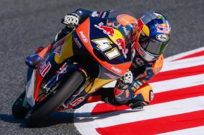 Binder partirá desde la pole position en Moto3™