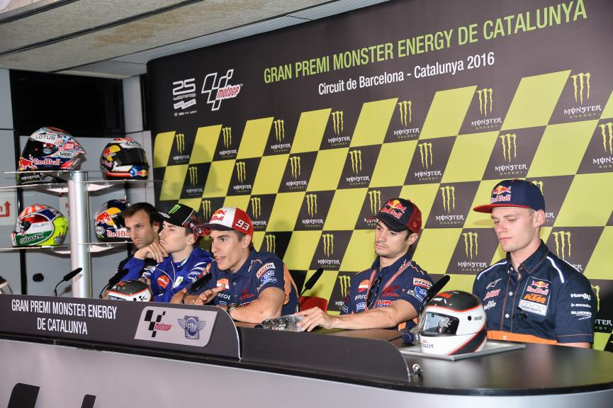 Press conference Gran Premi Monster Energy de Catalunya