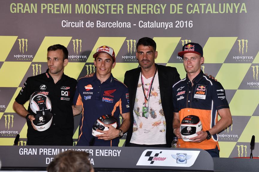 Press conference Gran Premi Monster Energy de Catalunya
