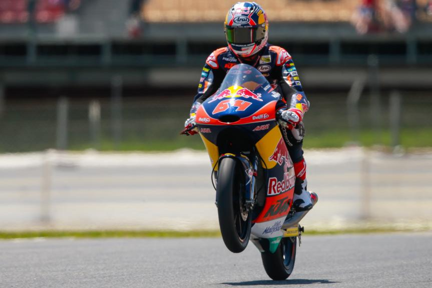 Bo Bendsneyder, Red Bull KTM Ajo, Gran Premi Monster Energy de Catalunya