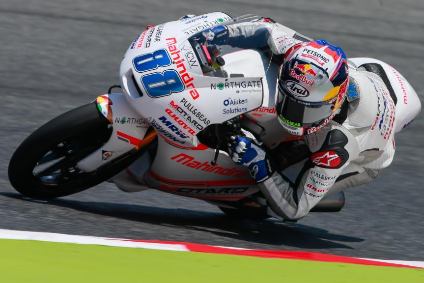 Jorge Martin, ASPAR Mahindra Team Moto3, Gran Premi Monster Energy de Catalunya