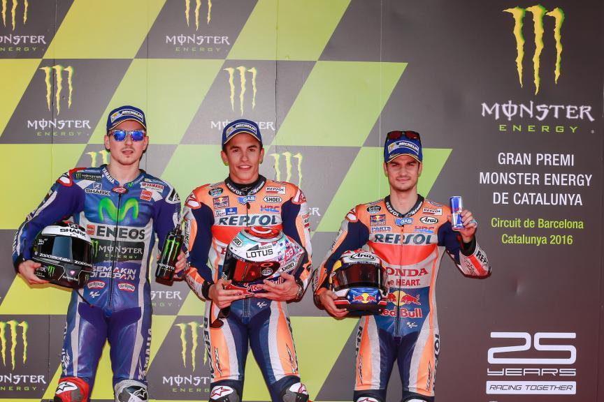 Marc Marquez, Jorge Lorenzo, Dani Pedrosa, Gran Premi Monster Energy de Catalunya