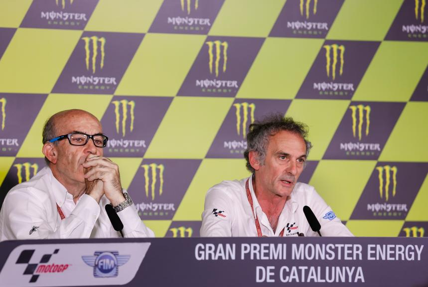 Press conference, Gran Premi Monster Energy de Catalunya