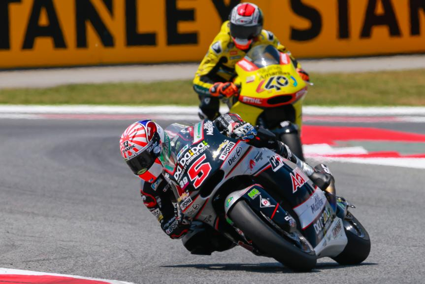Johann Zarco, Ajo Motorsport, Alex Rins, Paginas Amarillas HP 40, Gran Premi Monster Energy de Catalunya