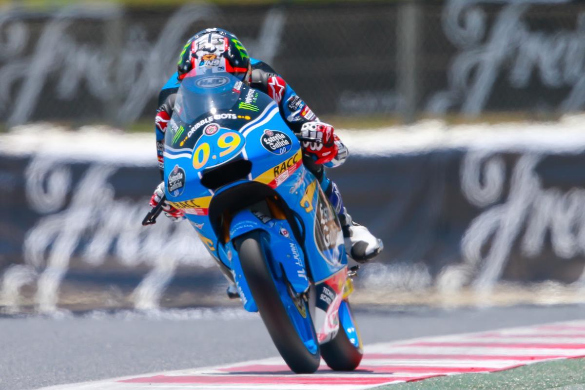 Navarro on form in Moto3™ Warm Up   MotoGP™