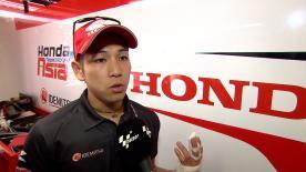 今季3度目の転倒リタイアを喫した尾野弘樹が決勝レースを振り返る。