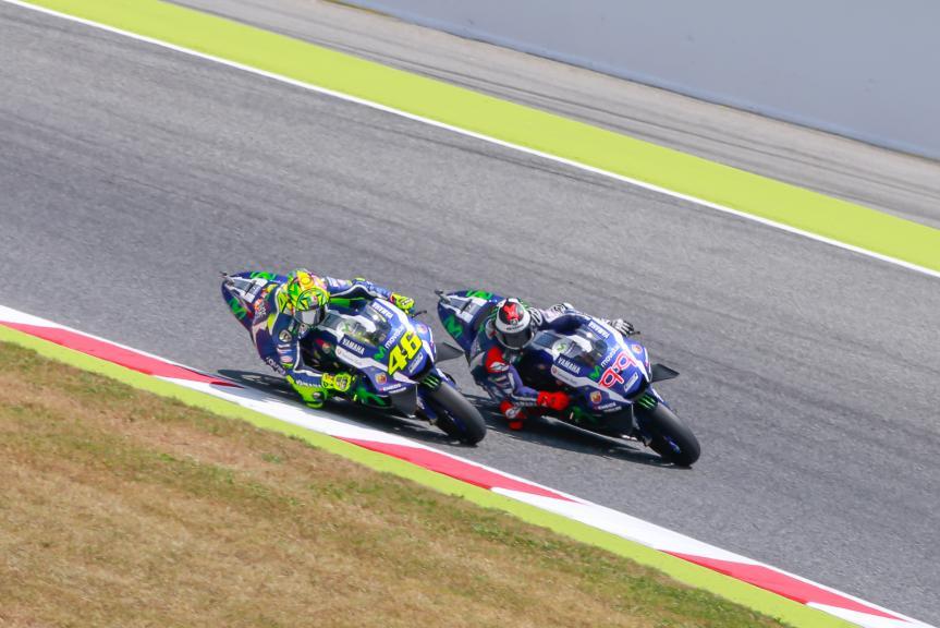 Valentino Rossi, Jorge Lorenzo, Movistar Yamaha MotoGP, Gran Premi Monster Energy de Catalunya