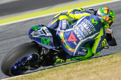 Warm-up MotoGP™ : Rossi en tête