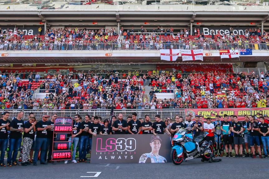 Minute of Silence in Memory of Luis Salom