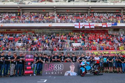 A minute of Silence for Luis Salom