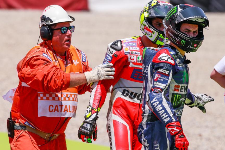 Jorge Lorenzo, Movistar Yamaha MotoGP, Andrea Iannone, Ducati Team, Gran Premi Monster Energy de Catalunya