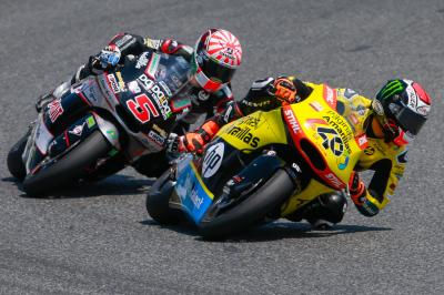 "Rins: ""I wanted to get the best result possible for Luis"""