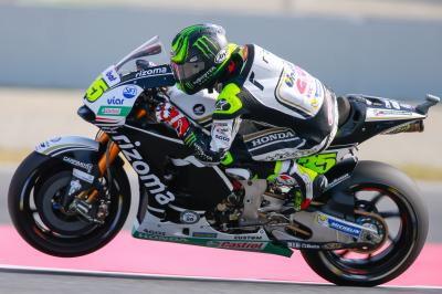 Crutchlow concludes post-race Barcelona test on top