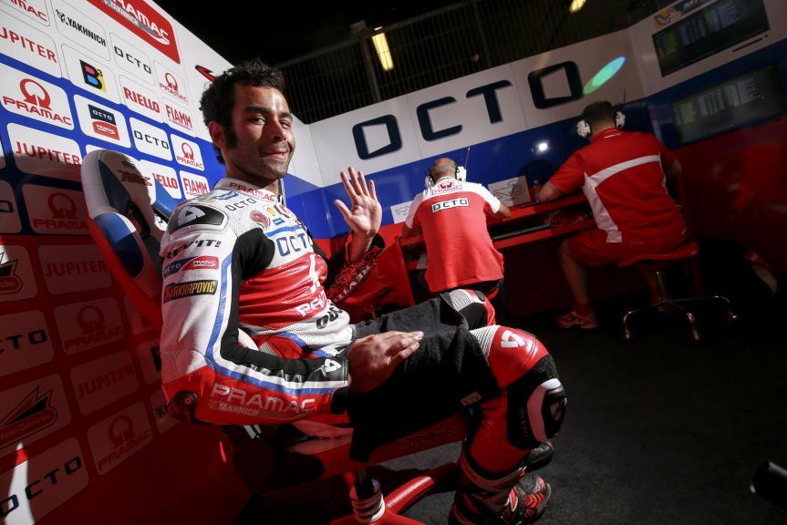 Danilo Petrucci, OCTO Pramac Yakhnich, MotoGP Official Test
