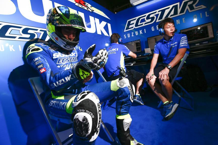 Aleix Espargaro, Team SUZUKI ECSTAR, MotoGP Official Test