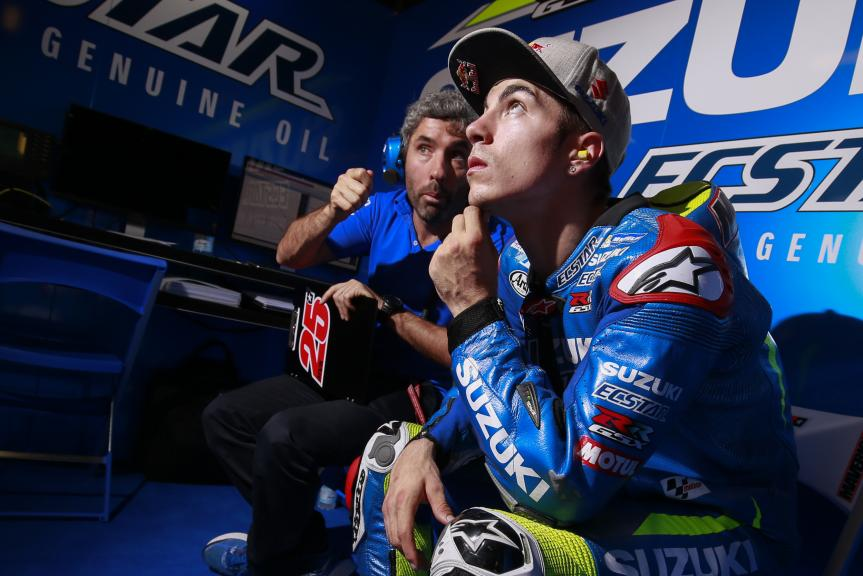 Maverick Viñales, Team SUZUKI ECSTAR, MotoGP Official Test