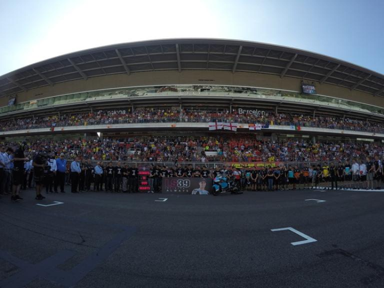 Minute of Silence of Luis Salom, SAG Team, Gran Premi Monster Energy De Catalunya
