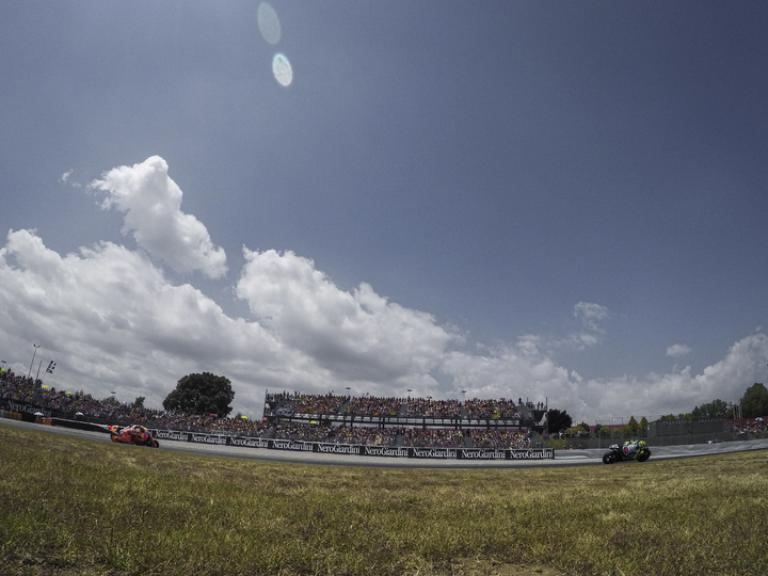 Valentino Rossi, Movistar Yamaha MotoGP and Marc Marquez, Repsol Honda Team, Gran Premi Monster Energy De Catalunya