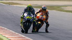 An explanation of the most remarkable overtakes that took place at the #CatalanGP.