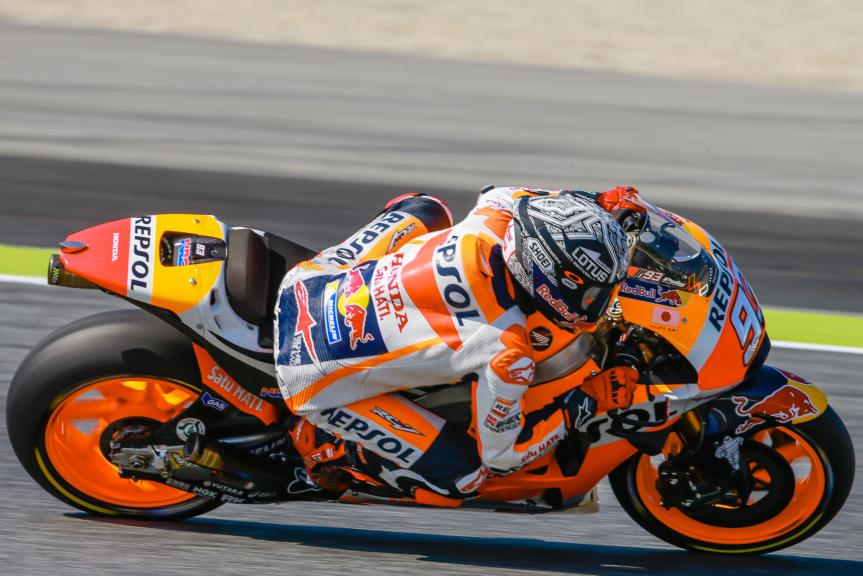 Marc Marquez, Repsol Honda Team, Montmelo, MotoGP Official Test