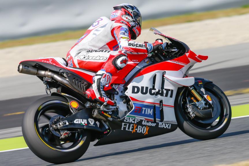 Andrea Dovizioso, Ducati Team, Montmelo, MotoGP Official Test