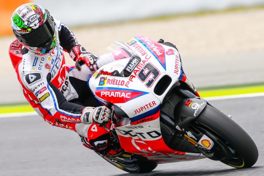 Danilo Petrucci, OCTO Pramac Yakhnich, Montmelo, MotoGP Official Test