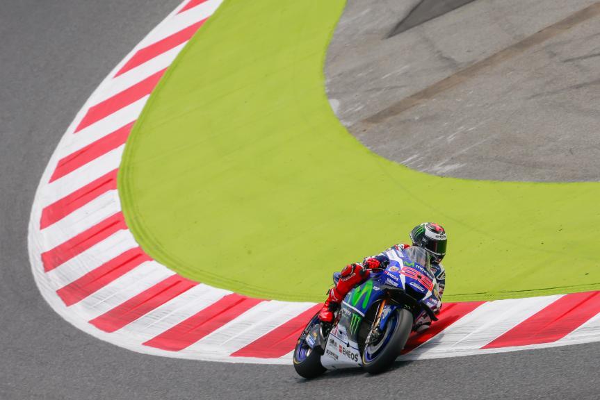 Jorge Lorenzo, Movistar Yamaha MotoGP, Montmelo, MotoGP Official Test