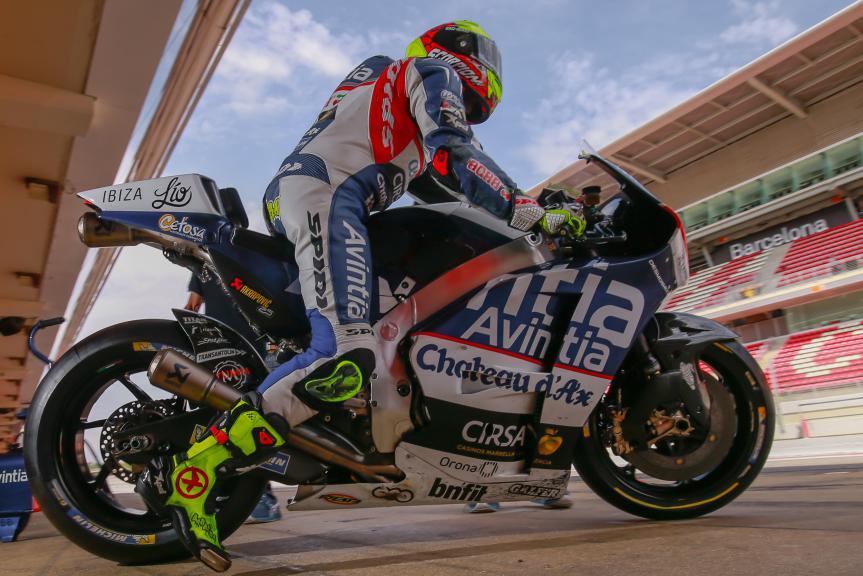 Hector Barbera, Avintia Racing, Montmelo, MotoGP Official Test