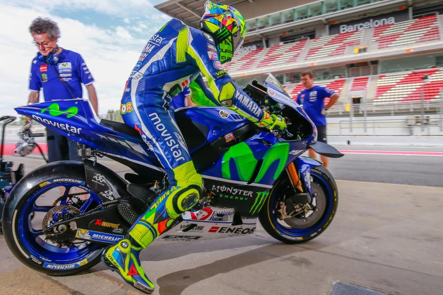 Valentino Rossi, Movistar Yamaha MotoGP, Montmelo, MotoGP Official Test