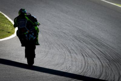 "Rossi: ""I tried the new chassis"""