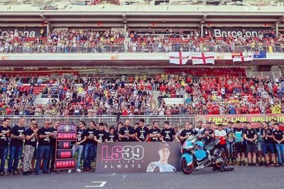 Always in our hearts Luis ! Tomorow we will be in Mallorca for your last trip! I will miss you on and off the track