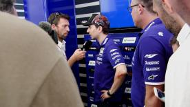 After the Catalan GP Jorge Lorenzo discussed his reasons for struggling during the race and why he admired Valentino Rossi's ride so much.