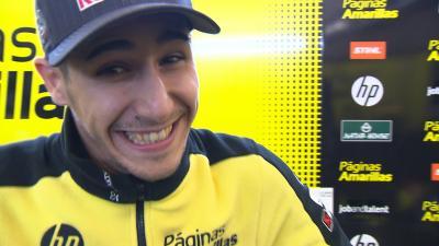 Off-Track : Salom, l'un des plus beaux sourires du paddock