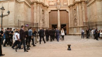 Beerdigung von Luis Salom