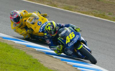 Back When Yzr M1 2004 Rossi S First Yamaha Motogp