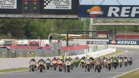 Highlights of the FIM CEV Repsol Moto2 race 1.