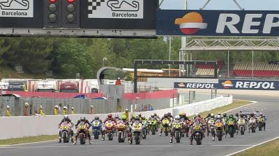 Highlights: FIM CEV Repsol Moto2 Race 1 - Barcelona