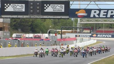 Highlights: FIM CEV Repsol Moto3 Race 1 - Barcelona