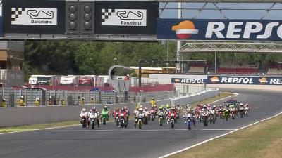 Highlights: FIM CEV Repsol Moto3 Race 2 - Barcelona